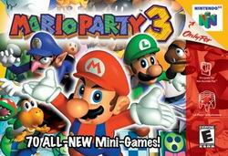 Mario Party 3 (USA) Box Scan